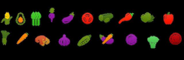 Fruits et légumes de l'épicerie sociale